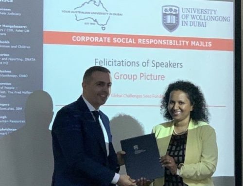 CSR Event at UOWD