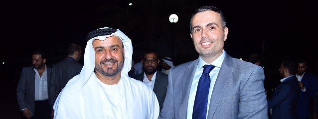 Dr. Rassel Kassem - H.E. Saeed Abdul Jalil Al Fahim د. راسل قاسم - سعادة سعيد عبد الجليل الفهيم