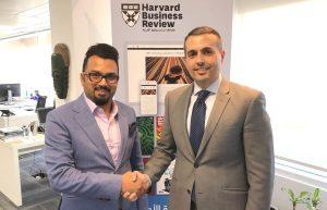 Joining Harvard Business Review Board of Experts الانضمام إلى مجلس خبراء هارفارد بزنس ريفيو العربية Dr. Rassel Kassem - Mr. Hamoud Al Mahmoud الدكتور راسل قاسم - الأستاذ حمود المحمود